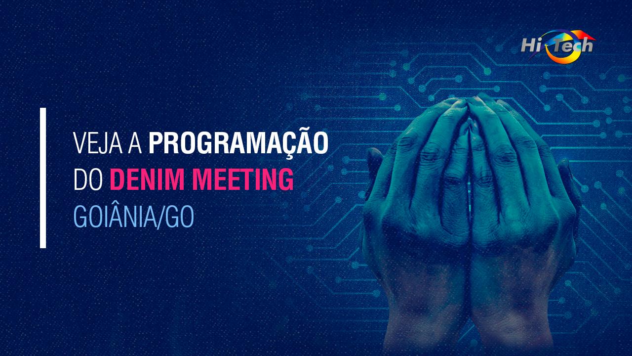 Denim Meeting Goiânia 2019 – Fique por dentro da programação