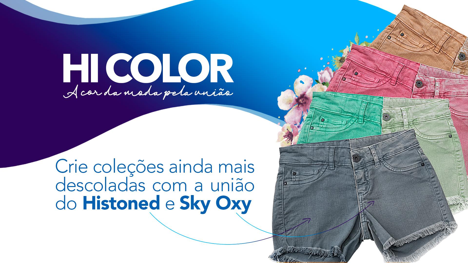 Hi Color: crie coleções ainda mais descoladas com a união do Histoned e Sky Oxy